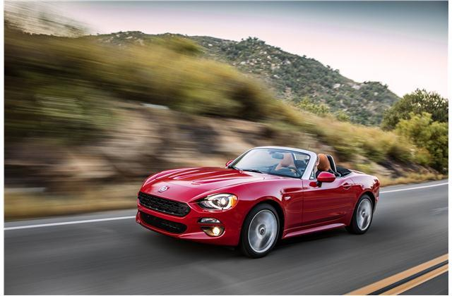 Xe thể thao: Fiat 124 Spider 2017